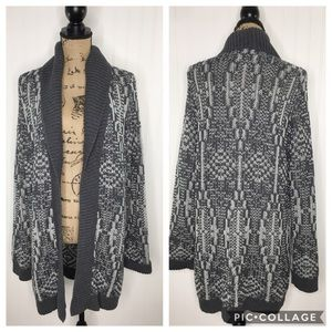 Talbots Knit Long Cardigan Sweater Size XL NWT